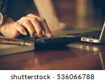 business women work with...   Shutterstock . vector #536066788