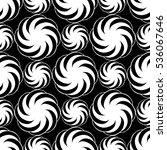 seamless creative hand drawn... | Shutterstock .eps vector #536067646