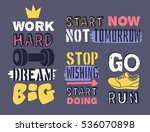 set of text templates for... | Shutterstock .eps vector #536070898
