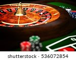 classic casino roulette and... | Shutterstock . vector #536072854