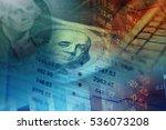 one hundred dollar bill.... | Shutterstock . vector #536073208