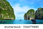 turquoise seascape asia   Shutterstock . vector #536079880