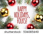 background made of christmas... | Shutterstock . vector #536085640