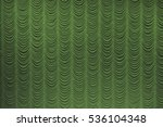 Small photo of Theater curtain sap green. It can be used as background.