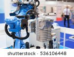 industrial assembly robotic arm ... | Shutterstock . vector #536106448