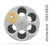 revolver cylinder vector... | Shutterstock .eps vector #536110810