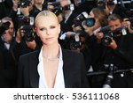 actress charlize theron attends ... | Shutterstock . vector #536111068