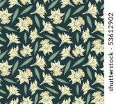 floral pattern in modern style   Shutterstock .eps vector #53612902
