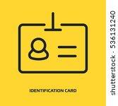 identification card  logo...