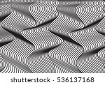geometric waves  vector... | Shutterstock .eps vector #536137168