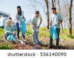 volunteering  charity  cleaning ... | Shutterstock . vector #536140090