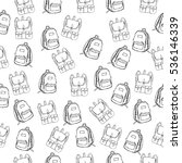seamless vector pattern with...   Shutterstock .eps vector #536146339