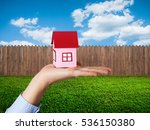 house for sale concept | Shutterstock . vector #536150380