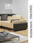 a view of an interior of modern ...   Shutterstock . vector #53615401