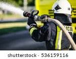 Fireman Drills  Water Spill...
