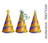 vector party hat | Shutterstock .eps vector #536171164