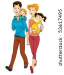 family   vector | Shutterstock .eps vector #53617495