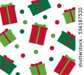 christmas and new year simple...   Shutterstock .eps vector #536187520