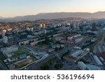 amazing panorama view on... | Shutterstock . vector #536196694