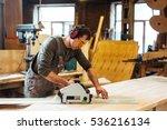 joiner at work   Shutterstock . vector #536216134