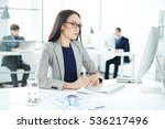young accountant | Shutterstock . vector #536217496