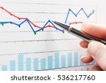 financial graphs analysis | Shutterstock . vector #536217760