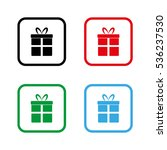 gift    color vector icon