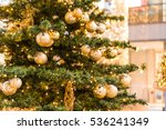 Festive Gold Decorations With...