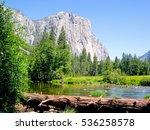el capitan yosemite national... | Shutterstock . vector #536258578