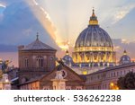 st peter's basilica in rome...