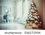 defocused background christmas... | Shutterstock . vector #536271934