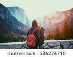 romantic view of a young couple ... | Shutterstock . vector #536276710