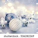 Silver Color Christmas And New...