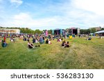 madrid   sep 10  the crowd in a ... | Shutterstock . vector #536283130