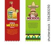 viva mexico poster celebration | Shutterstock .eps vector #536283250