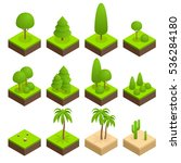 big ans small trees  pine ... | Shutterstock . vector #536284180