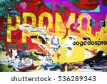 digital urban collage... | Shutterstock . vector #536289343