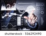 high technologies for your... | Shutterstock . vector #536292490