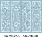 decorative doodle lace borders... | Shutterstock .eps vector #536298088