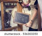 Business Cafe Entrance Message...