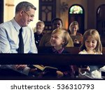 church people believe faith... | Shutterstock . vector #536310793
