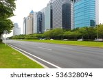 empty road surface floor... | Shutterstock . vector #536328094
