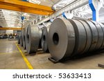 industrial warehouse | Shutterstock . vector #53633413