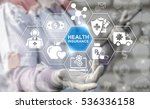 health insurance medicine... | Shutterstock . vector #536336158