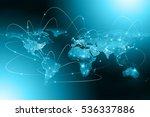 earth from space. best internet ... | Shutterstock . vector #536337886