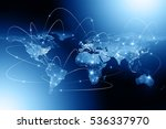 earth from space. best internet ... | Shutterstock . vector #536337970