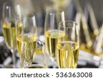 new year eve party with... | Shutterstock . vector #536363008