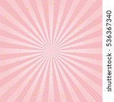 pink radial background with... | Shutterstock .eps vector #536367340