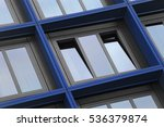 tilt close up photo of windows