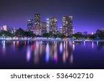 downtown skyscrapers los... | Shutterstock . vector #536402710